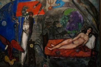 Marc Chagall in the Musee d'Orsay