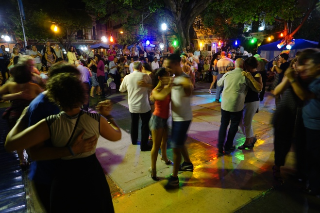 Tango in the park, Buenos Aires