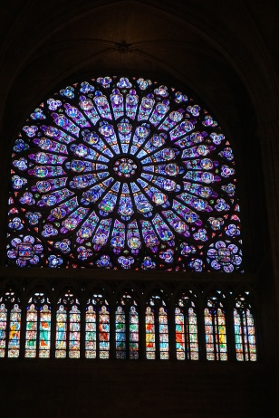 Rose Window, Notre-Dame