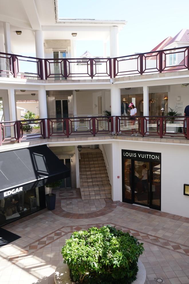Luxury shops, St. Barth