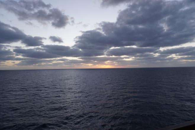 Sundown in the Atlantic, February 11, 2017