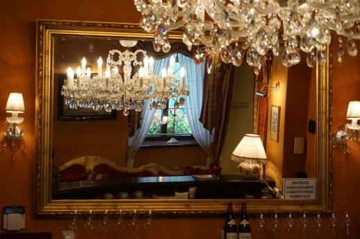 Reading room and bar, Nosticova Palace, Prague