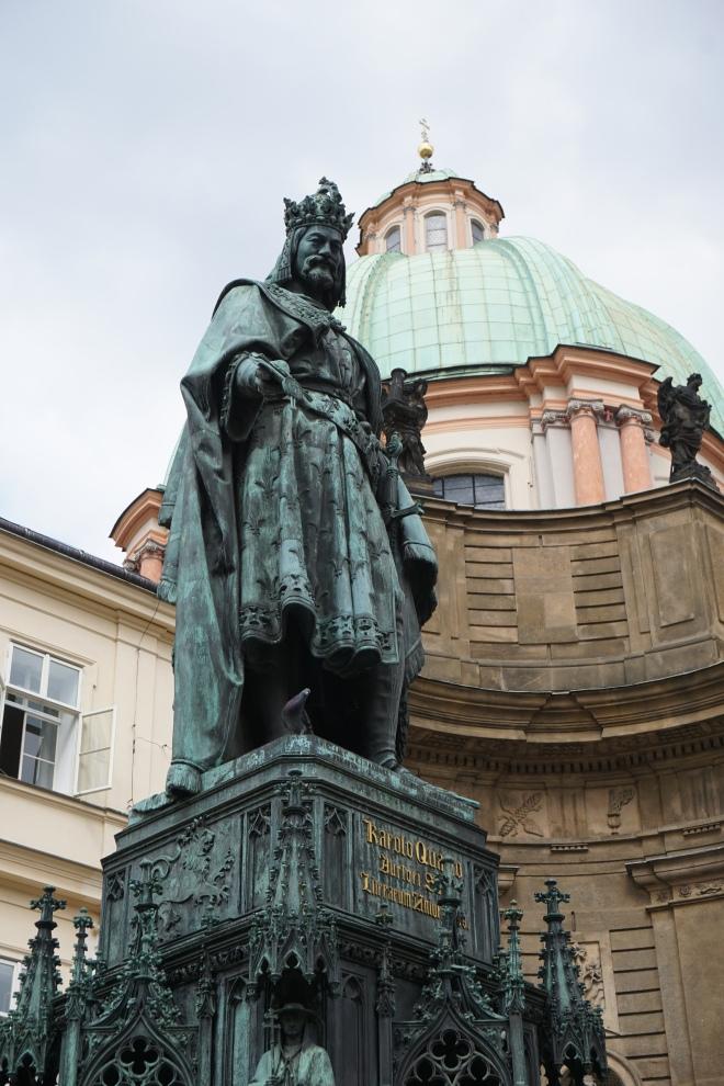 King Rudolf, Prague
