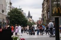 Street scene, Prague