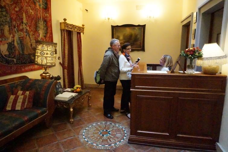 Reception, Nosticova Palace, Prague