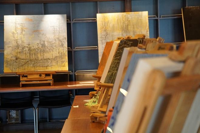 Andre's studio