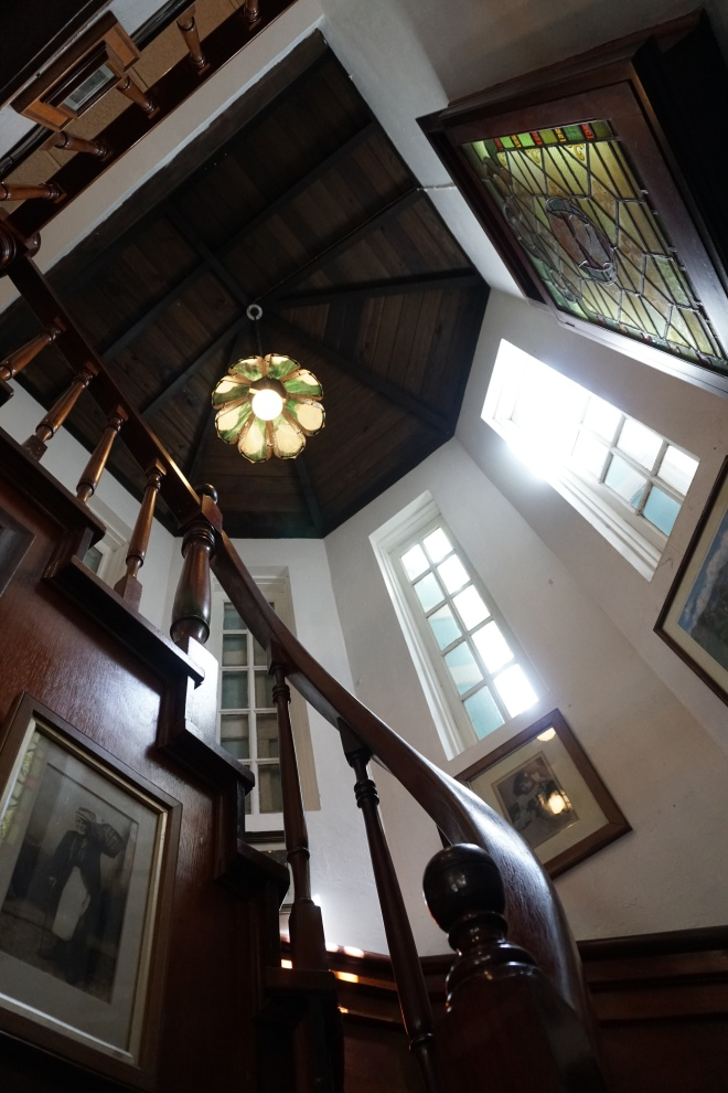 Staircase in Pusser's