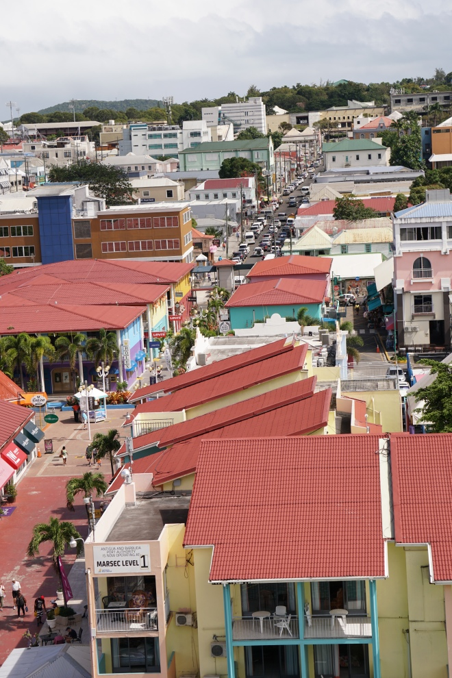 View up St. Mary's Street from the Riviera