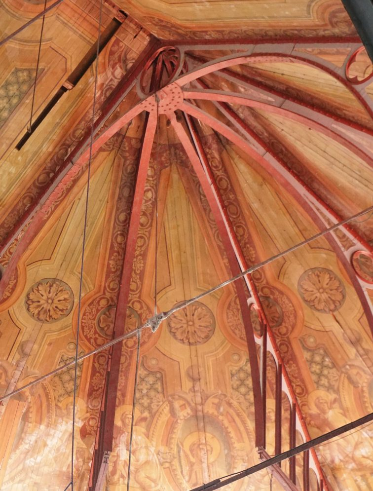 Ceiling, Cathedral of the Immaculate Conception