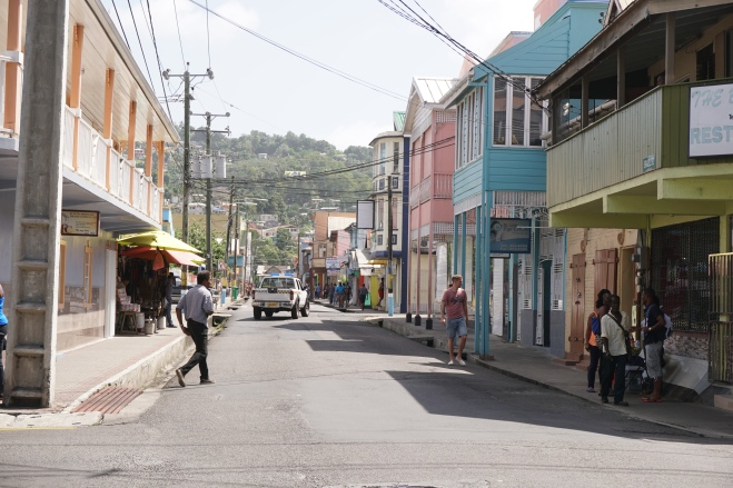 Street view, Castries