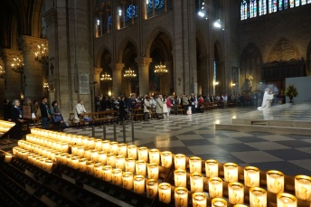 Mass, Notre-Dame, Paris