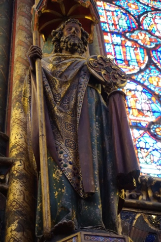 Apostle Statue, Upper Chapel, Sainte-Chapelle, Paris