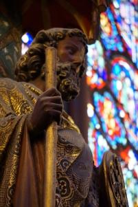 Apostle Statue, Upper Chapel, Sainte-Chapelle, Paris