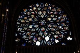 Rose window, Upper Chapel, Sainte-Chapelle, Paris