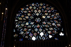 Rose window, Upper Chapel, Sainte-Chapelle, Paris