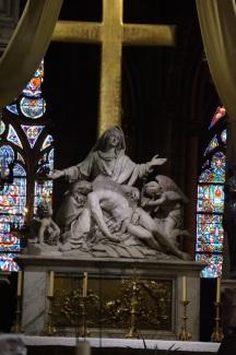 Pieta, Notre-Dame, Paris