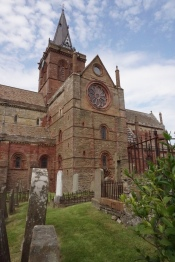 St. Magnus and graveyare