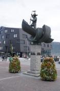 Harbor statue