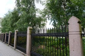 Fence at Oslo University