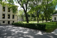 Oslo University park and buildings