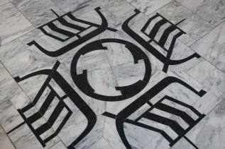 Detail on floor in the Gestgalleriet
