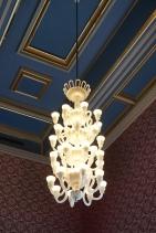 Chandelier in the Banquet Room