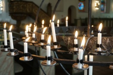 Candles in Domkirk