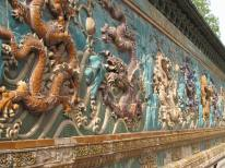 Enamel mural, Forbidden City
