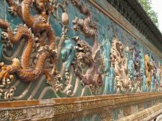 Enamel mural, Forbidden City