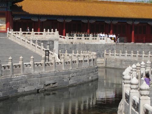 Moat inside the Forbidden City