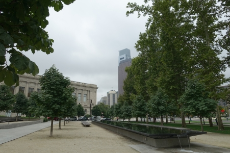 Downtown Philadelphia, a second view