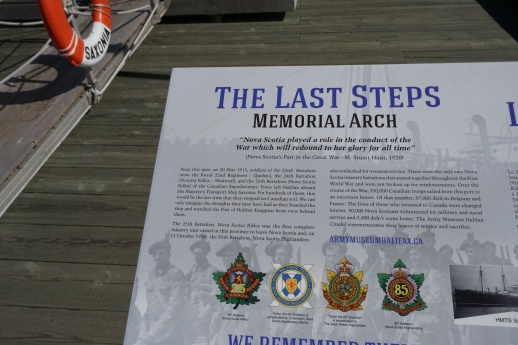 Explanation of the Last Steps Monument