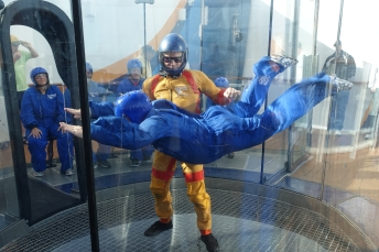 Rip Cord by IFly; simulated sky diving