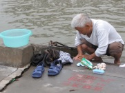 Washing along the Yangzi River