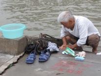 Washing along the Yangzi River
