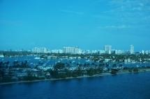 Miami area skyline