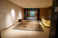 Hallway leading to Blu and Tuscan Grille