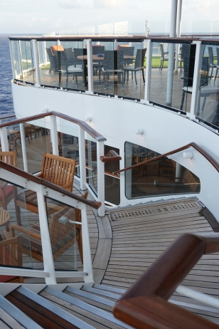 Stairs to Deck 14