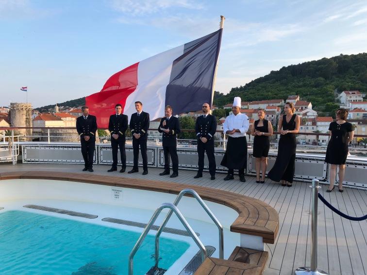 Captain's reception Le Lyrial