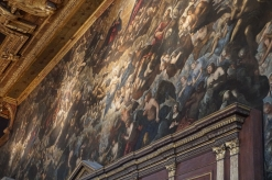 Portion of Paradiso by Tintoretto
