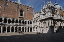 Doge's Palace attached to St. Mark's Cathedral